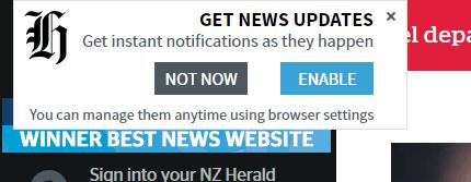 nz herald web push